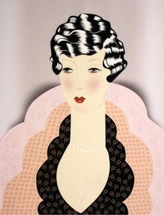 Meret - XXI Century, Contemporary Figurative Print, Women, Fashion, Colourful