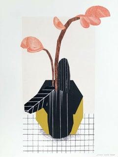 A flower - Digital print, Young art, Figurative art, Plants, Colorful