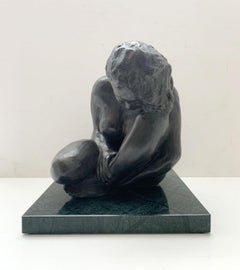 Woman - XXI century Contemporary figurative bronze sculpture, Classical, Realism