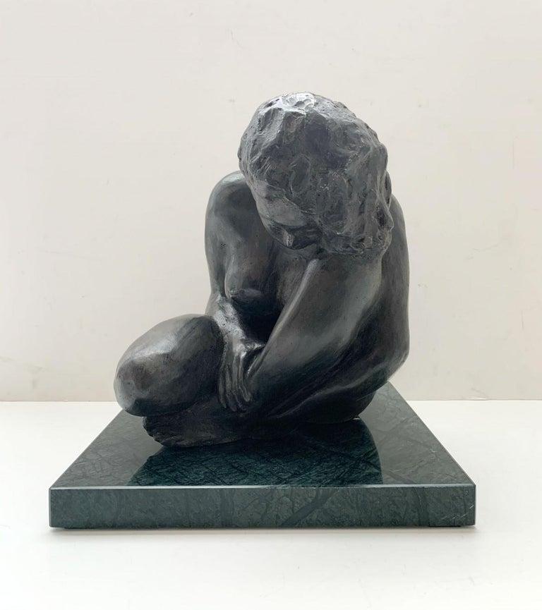 Ryszard Piotrowski Nude Sculpture - Woman - XXI century Contemporary figurative bronze sculpture, Classical, Realism