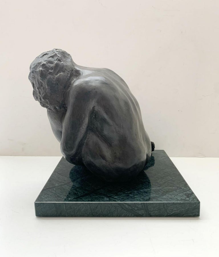 RYSZARD PIOTROWSKI (born in 1952) Sculptor. He graduated from the Academy of Fine Arts in Warsaw. His works include intimate, small forms in marble, bronze and silver. He specializes in repoussage. In the 1970s and 80s he was dealing with portrait