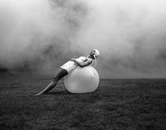 Oblivion. Hidden identity - Contemporary black & white photography, Figurative