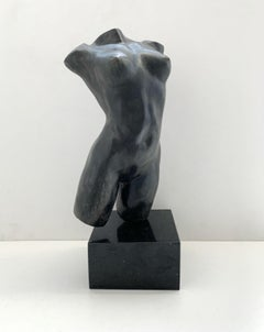 Nude - XXI century Contemporary figurative bronze sculpture, Classical, Realism