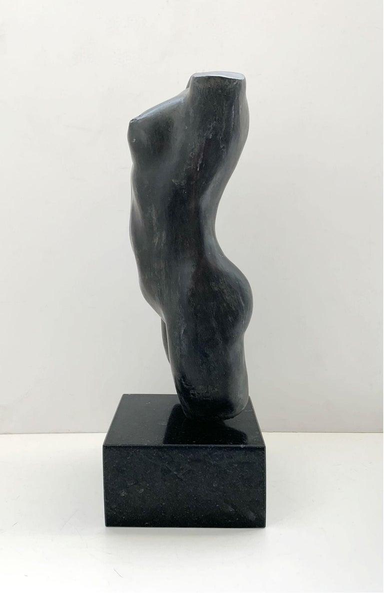 Nude - XXI century Contemporary figurative bronze sculpture, Classical, Realism For Sale 1