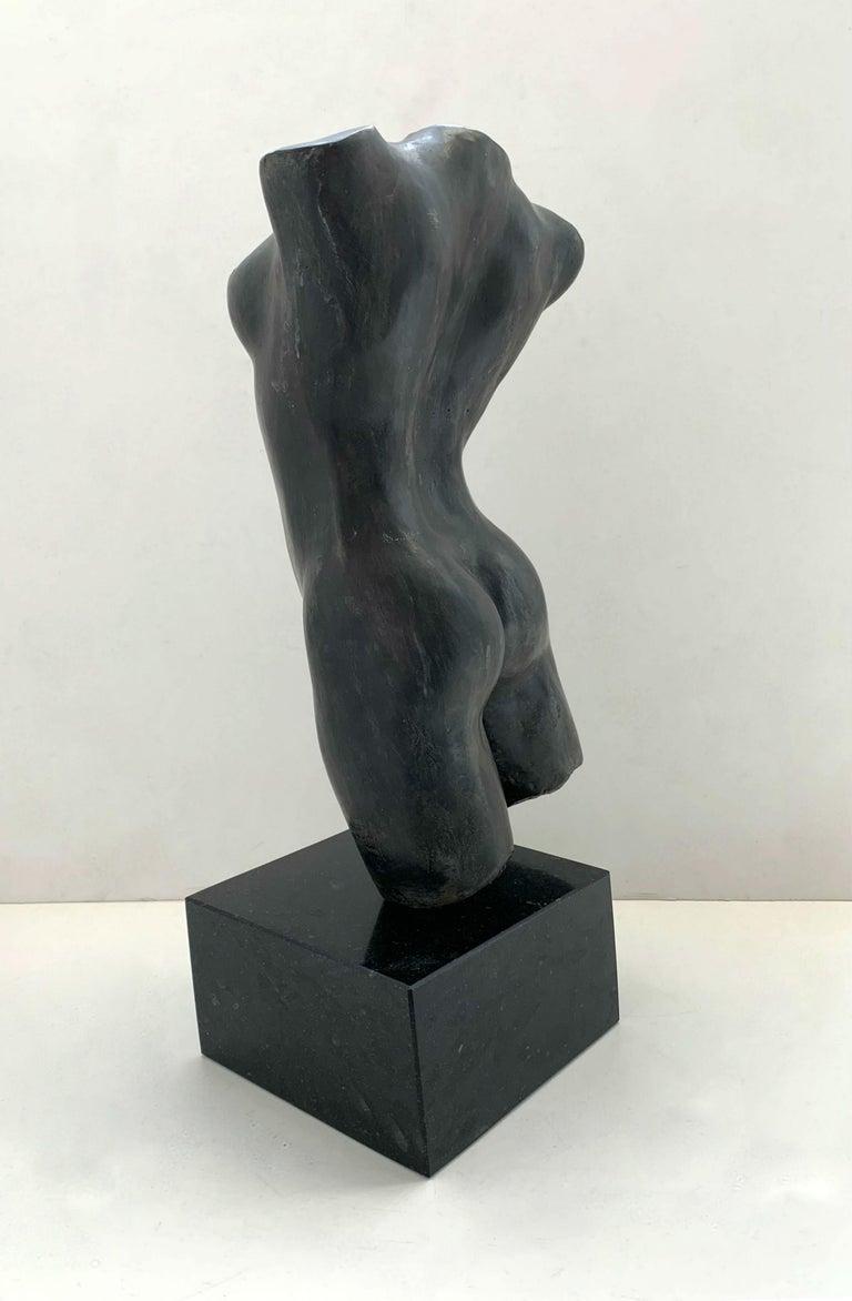 Nude - XXI century Contemporary figurative bronze sculpture, Classical, Realism For Sale 2