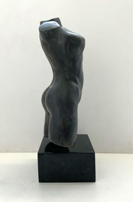 Nude - XXI century Contemporary figurative bronze sculpture, Classical, Realism For Sale 5
