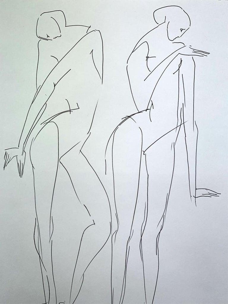 No Title- XXI Century, Contemporary Drawing, Black And White - Other Art Style Art by Katarzyna Zygadlewicz
