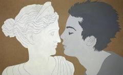 Classics. Artemis - Contemporary figurative acrylic painting, Pop art