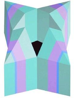 X - XXI century, Acrylic painting, Geometrical abstraction, Vivid colours