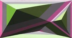4 - XXI century, Acrylic painting, Geometrical abstraction, Vivid colours