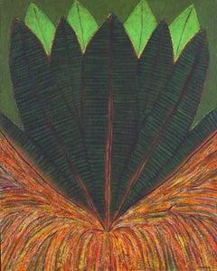 Growth - XXI Century, Contemporary Oil Painting, Organic abstarction