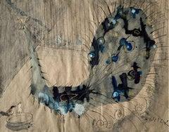 Peacock - Contemporary art, Figurative Painting, Animals, Classics, Art master
