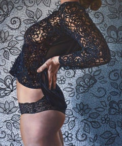 Why would you? - Polish Young Art, Realism, Photorealistic Oil Painting, Woman