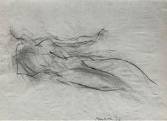 Untitled - Contemporary pencil drawing, Figurative, Black & white