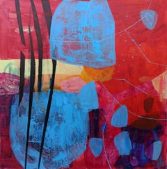 Separation's formule - 21 Century, Contemporary Abstract, Colorful, Vibrant