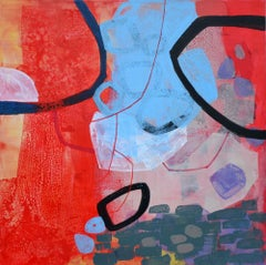 Space to think - 21 Century, Contemporary Abstract, Colorful, Vibrant