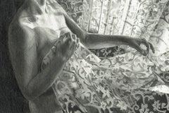 Draft 1 - Polish Young Art, Realism, Drawing, Woman, Monochromatic
