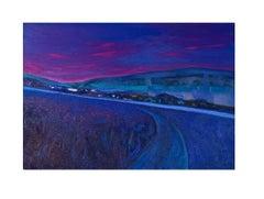 Impressions - Contemporary oil painting, Vibrant colors, Landscape