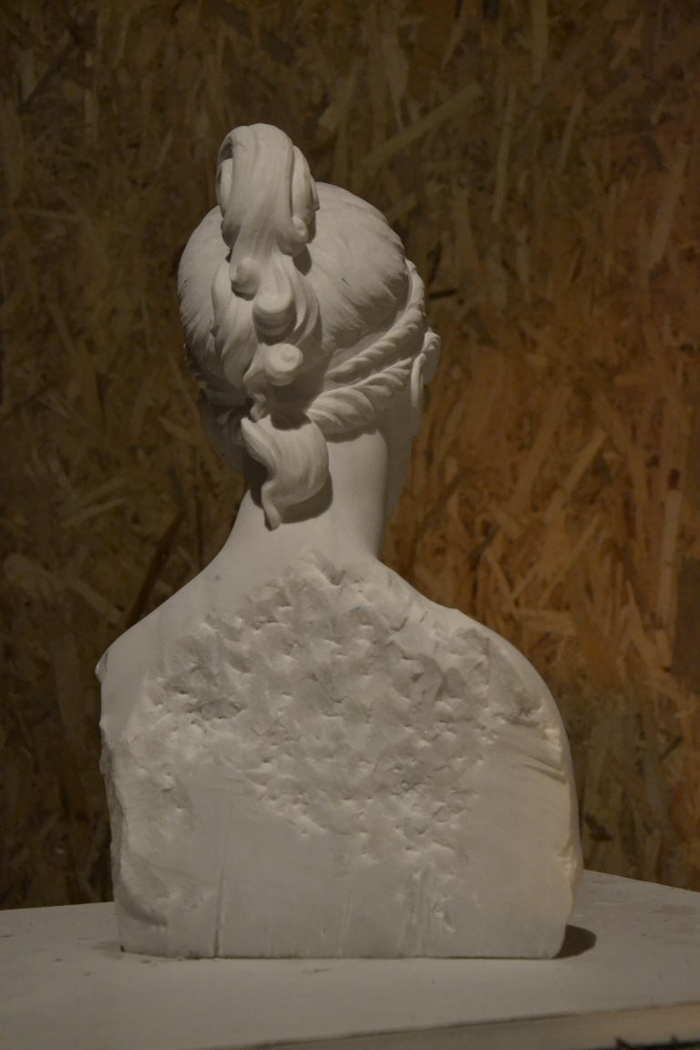 White Carrara Venus Marble Bust, Pietrasanta, 2017 1