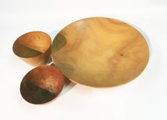 James Prestini : Grouping of Turned Wooden Bowls