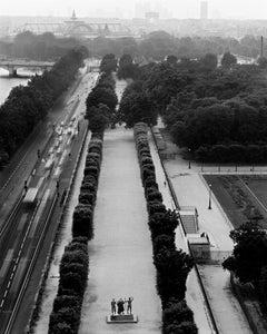 Louvre, Depois le toit du pavillon de Flore, Paris, France