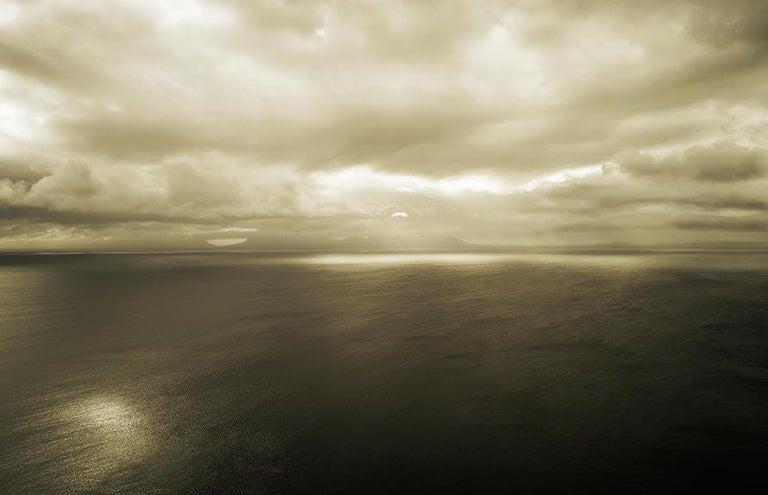 Bernhard Quade Color Photograph - Ireland Donegal Sea