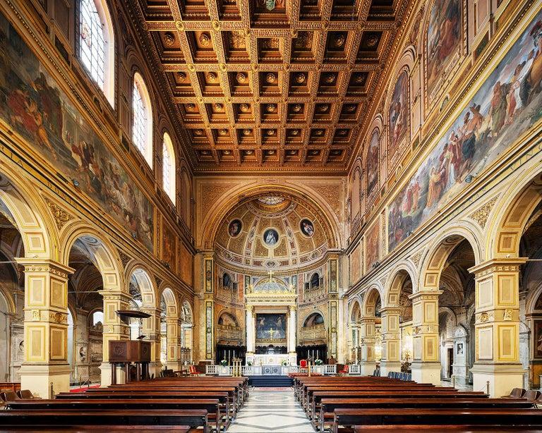 Mac Oller Interior Print - San Lorenzo in Damaso, Rome, Italy (Churches of Rome)
