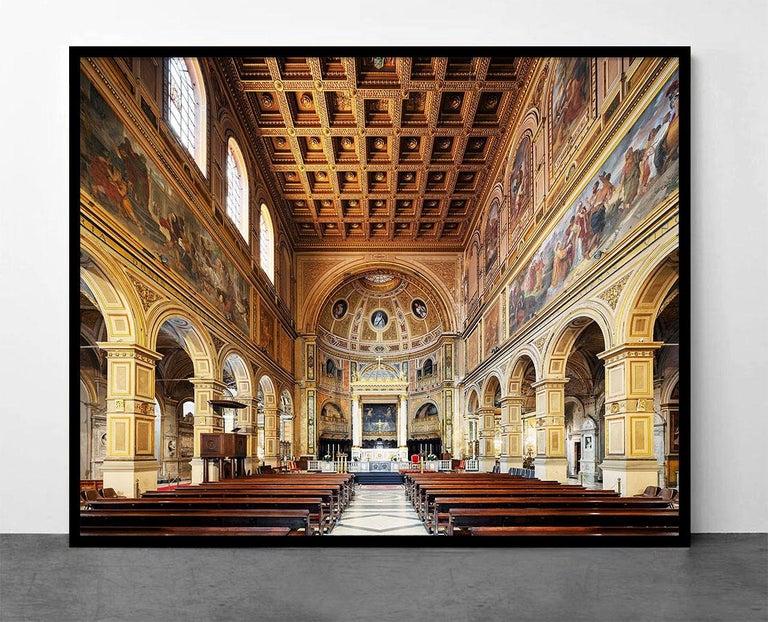 San Lorenzo in Damaso, Rome, Italy (Churches of Rome) - Print by Mac Oller