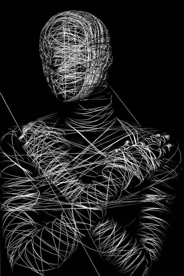 Gabriel Wickbold Portrait Photograph - I am online #10