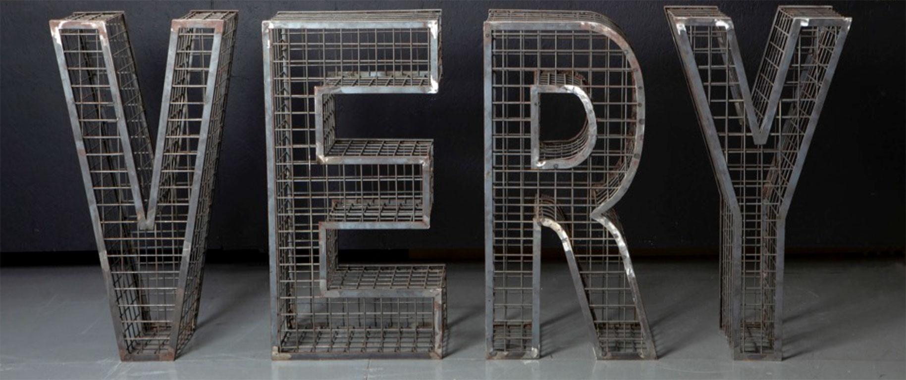 VERY Steel Sculpture