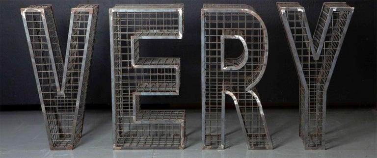 VERY Steel Sculpture - Mixed Media Art by Ale Jordão