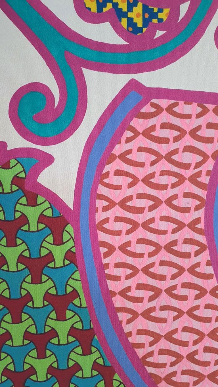 Carolina Ponte - No Title (Painting) For Sale 4