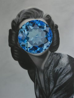 Blue Zircon from the Mirror Stone series