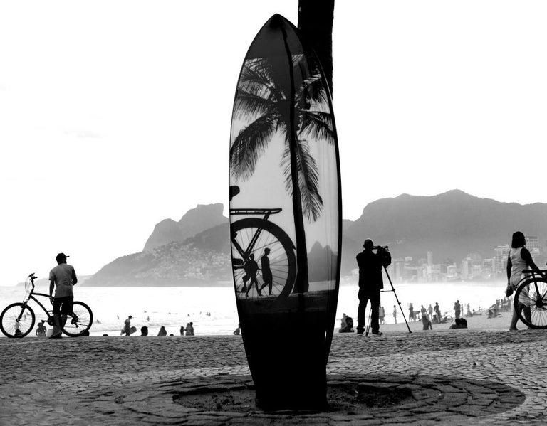 Surfboard Rio 2 - Rio de Janeiro series - Photograph by Joaquim Nabuco