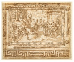 The Judgment of Solomon, Design for a Ceiling Fresco