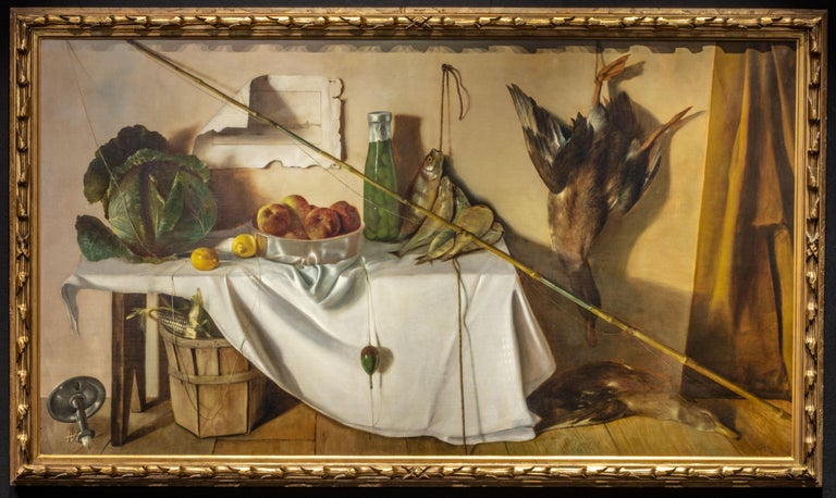 Michael Hottes Still-Life Painting - Provisions from Nature