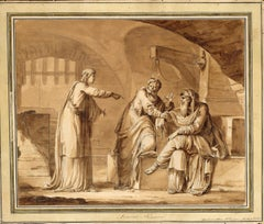 Joseph Interpreting the Prisoners' Dreams