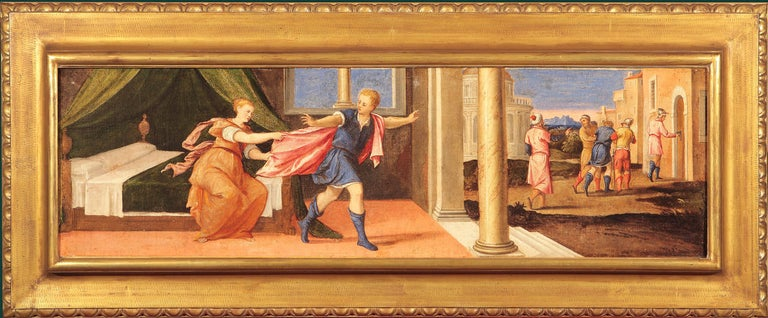 Antonio Palma Interior Painting - Joseph and Potiphar's Wife