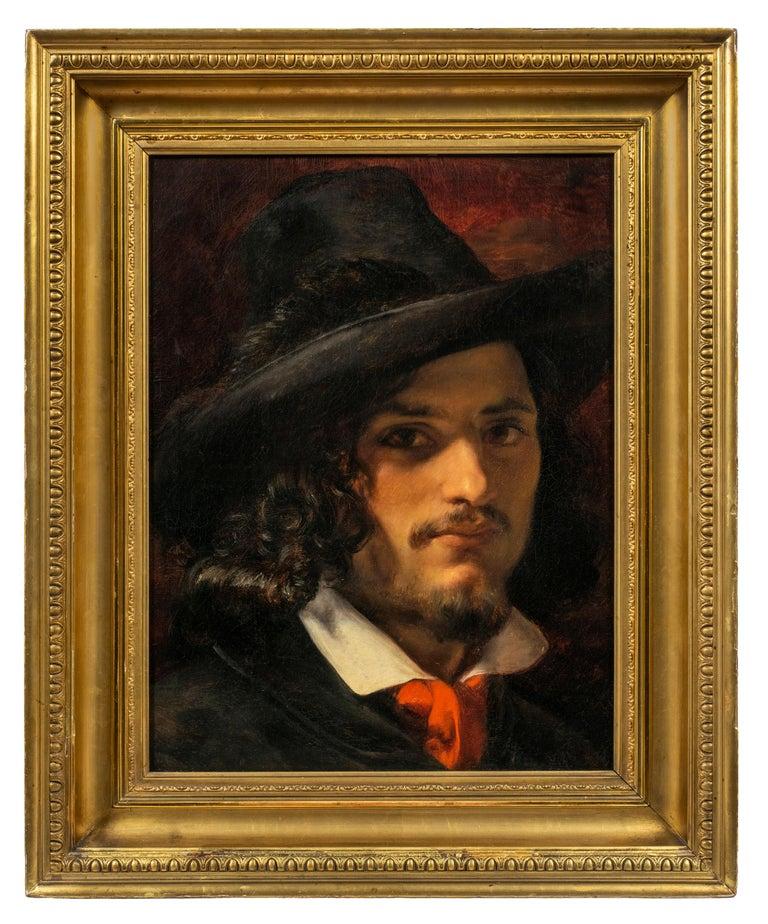 <i>Portrait of an Italian Revolutionary</i>, 19th century, by Elisabeth Jerichau-Baumann