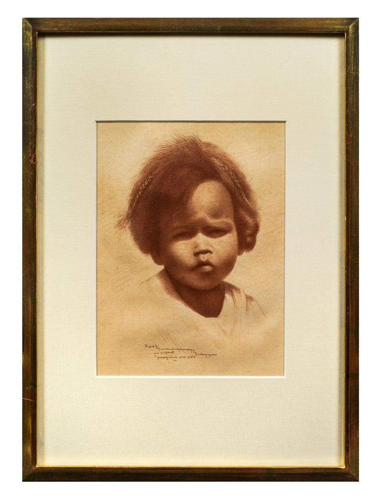 Joseph Ramanankamonjy Portrait - Un Enfant