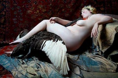 """Leda and the Swan"", Limited Edition, Art Photography, Natasha Kertes, 2012"