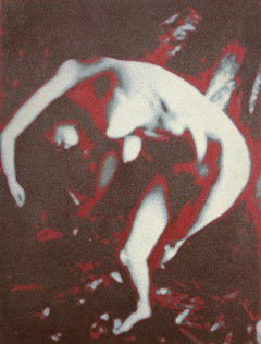 Todd Walker, Abstract dancing nude, 1973