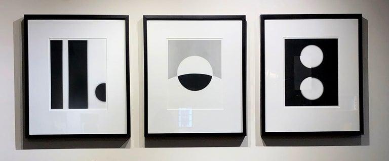 Philip Augustin, Negative #17-028-14, 2017, photogram  - Gray Abstract Photograph by Philip Augustin