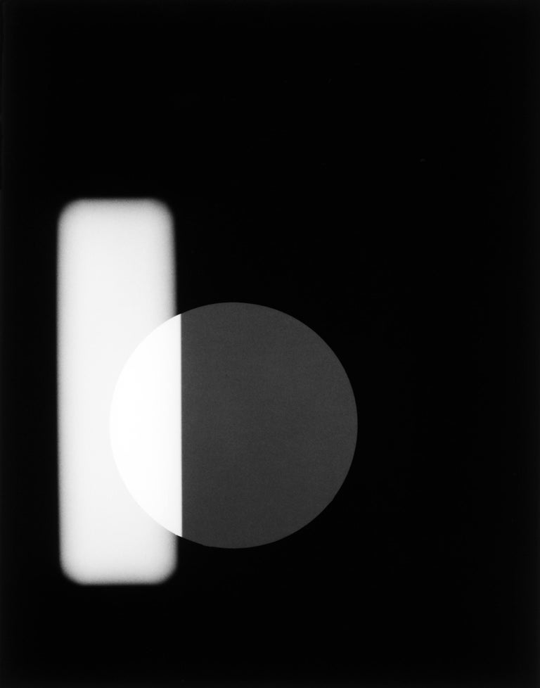 Philip Augustin, Negative #18-005-09 with photogram, 2018  - Photograph by Philip Augustin