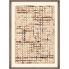 Amate Papers no. 1, handmade paper, framed