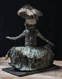 Tiknik, bronze sculpture