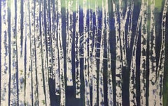 Moonlight, a large canvas work 48x72 in. Perfect for master room in the house.