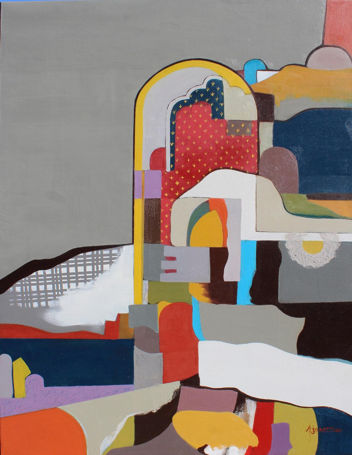 Composition , 80x60 cm, 31.5x24 inches
