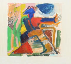 Untitled, Abstract Figure, 1971