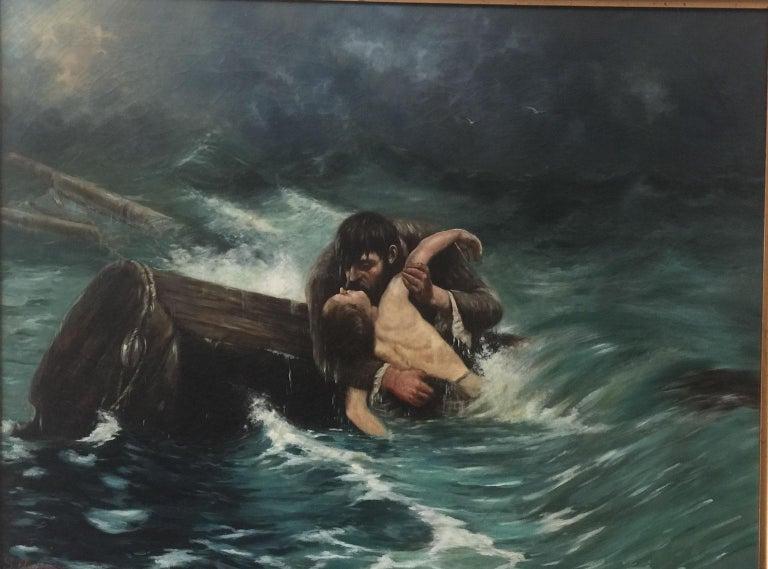 The Savior - Art by Simon Agopian